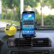 Suport Telefon Auto Universal Cu Incarcator Wireless Qi