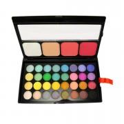 Trusa Farduri 36 culori cu blush si pudra Fraulein38 Miss Sunshine