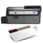 Zebra ZXP7 USB ETH - Codifica Banda Magnetica e Smart Card MIFARE® Contactless + Contact Encoder singolo lato - Z71-AM0C0000EM00