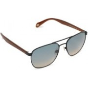 Fossil Aviator Sunglasses(Grey)