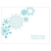 Confetti Winter Finery Note Card