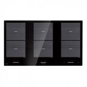 Virtuosa Flex 90 Piano Cottura a Induzione 6 Zone 10800 W Ceran Ad Incasso Nero