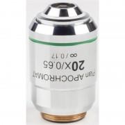 Objectif Motic 20X / 0.65, wd 0.7mm, CCIS, PL APO, plan, apochrom., infinity, (BA410E, BA310)