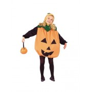 Child Medium 8-10 for 6-8 Yrs - ECONOMY Low Budget Pumpkin Costume (Pumpkin pail, tights, shirt not by RG Costumes