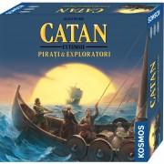 CATAN extensie Pirati Exploratori 2 4 jucatori