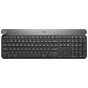 Logitech Craft Advanced Keyboard Tastiera Wireless per Windows, Mac con Pulsante Girevole per il Controllo Creativo