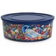 Kék madaras Kerek Tároló 1,5 L Tupperware