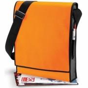 Taška Vertical Messenger - oranžová