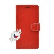 Fixed Pouzdro typu kniha FIXED FIT pro Samsung Galaxy A70/A70s, červené - če