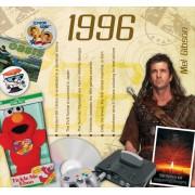 23 jaar - muziek uit 1996 CD Card
