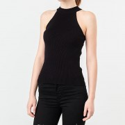 SELECTED Solita Knitted Top Black