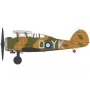 Kit constructie si pictura avion Gloster Gladiator Mk.I