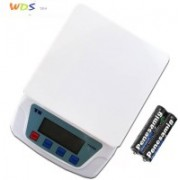 Mezire Ts-200v White Electronic Digital 7kg With Inbuilt Batteries Weighing Scale (White) Weighing Scale(White)
