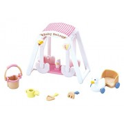 "Epoch Sylvanian Families Sylvanian Family Doll ""Baby Swing Set F-208"""