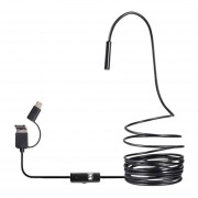 Endoscopio Teléfono impermeable ajustable 7Mm Mini Cámara Teléfono Móv