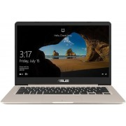 "Ultrabook™ ASUS VivoBook S14 S406UA (Procesor Intel® Core™ i5-8250U (6M Cache, up to 3.40 GHz), 14"" FHD, 8GB, 256GB SSD, Intel® UHD Graphics 620, Endless OS, Auriu)"