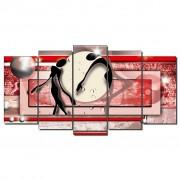 DEKOARTE C0084 Quadro moderno em tela. Abstrato