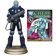 Batman Mr. Freeze Black Pawn Chess Piece with Magazine by Eaglemoss Publications