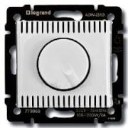 Светорегулятор поворотный 1000Вт Legrand Valena белый