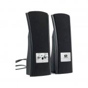 Boxe Pop 395, 2.0, 280W PMPO, Negru / Argintiu