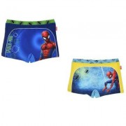 Spider-Man Badshorts Spiderman barn (Blå, 8 ÅR - 128 CM)