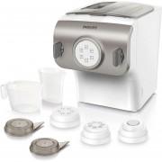 Máquina Para Hacer Pasta Collección Premium HR2357 Silver / Blanco