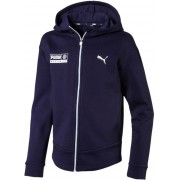 Puma Alpha Graphic Sweat Jacka, Peacoat 140