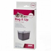 Sacchetti igienici Savic Bag it Up Litter - % Hop In - 3 x 6 pz