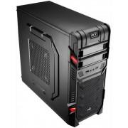 Aerocool GT Black Edition Midi-Toren Zwart, Rood computerbehuizing
