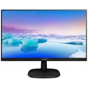 "Monitor IPS LED Philips 23.8"" 243V7QDSB/00, Full HD (1920 x 1080), VGA, DVI, HDMI, 5 ms (Negru)"