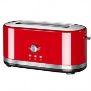 Grille-pain à fentes longues et contrôle manuel Rouge 5KMT4116EER Kitchenaid