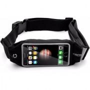 Premium Mobile Cover Sport Waist Bag Waterproof Band 5.5 Black Color apple iphone 7