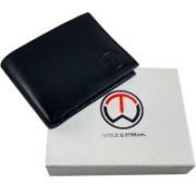 SnW Enterprises Men Casual, Formal Black Genuine Leather Wallet(3 Card Slots)