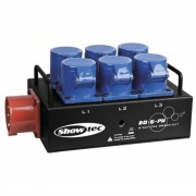 Showtec BO 6 PWC Distribuidor de potencia