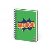 Big Bang Theory notitieboek 'Bazinga' (A5)