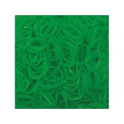 Elastice Rainbow Loom - Jelly Verde Lime 600 buc