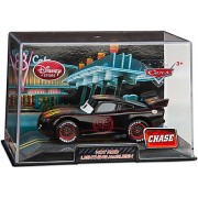 Disney / Pixar CARS 2 Movie Exclusive 1:48 Die Cast Car In Plastic Case HOT ROD Lightning McQueen