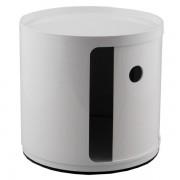 Kartell Componibili bijzettafel small (1 comp.) wit