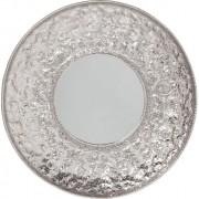 Kare Design - Spiegel Cosmos Flowers XXLØ110 - Zilverkleurig