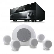 Pachet Receiver AV Yamaha MusicCast RX-A3060 + Boxe Morel SoundSpot MT-2