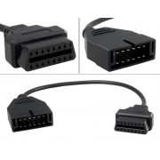 Adapterkabel - GM 12-pin till OBD2