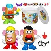 Bundle Includes 3 Items - Potato Head Playskool Mr.Potato Head Tater Tub Set and Playskool Mr. Potato Head and Playskool Mrs. Potato Head