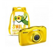 Nikon Aparat NIKON Coolpix W100 Żółty + Plecak