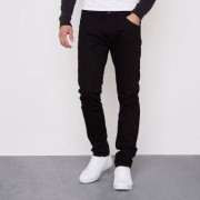 River Island Mens Black Wrangler Bryson skinny fit jeans