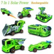 Szolár Kit 7 az 1 -ben napelemes építőkészlet (Járművek)