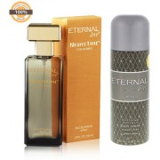 Eternal Love Eau De Parfum Women 120ml + Eternal Love Body Spray Men 200ml