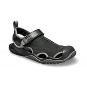 Crocs Swiftwater™ Mesh Deck Sandalen Herren Black 39
