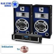 "Electronic-Star PA комплект Blue Star ""Beatbass I"" 800 вата (BS-Beatbass I)"