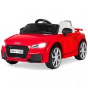 Masinuta electrica pentru copii Audi TT RS Quattro cu licenta originala un loc roti EVA telecomanda 2.4 Ghz rosu