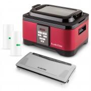 Klarstein Tastemaker Sous Vide + Foodlocker Slim + vákuumozó fólia, készlet vákuumos főzéshez, elektromos főzőedény/vákuumozó gép/fólia (PL-28298-30778-29382)